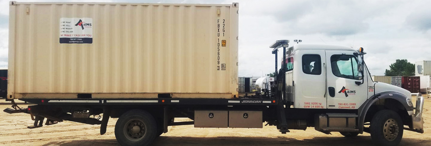 Aaims Storage Seacan Delivery